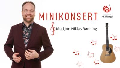 Handel og Kontor i Norge-Minikonsert med Jon Niklas Rønning @ Meetando.no