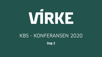 Virke-KBS-Konferansen 2020 - Dag 2 @ Meetando.no