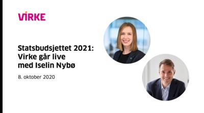 Virke-Virke går live med Iselin Nybø @ Meetando.no