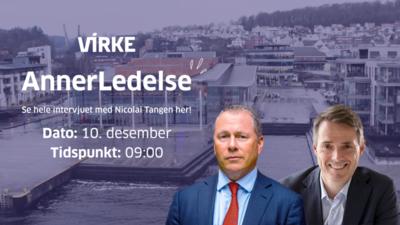 Virke-Se hele intervjuet med Nicolai Tangen her! @ Meetando.no